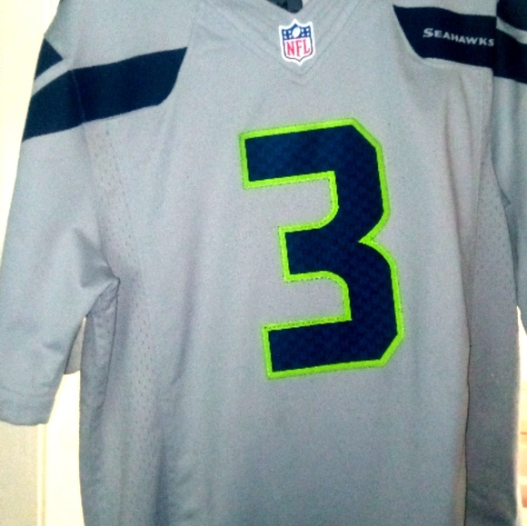 Russell Wilson Seattle Seahawks On-Field Jersey 8dd7362a0